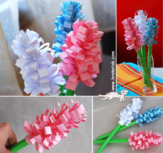Цветы своими руками на день матери в