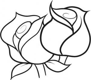 Учимся рисовать розы