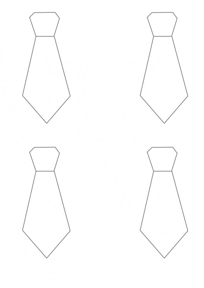 Поделка галстук