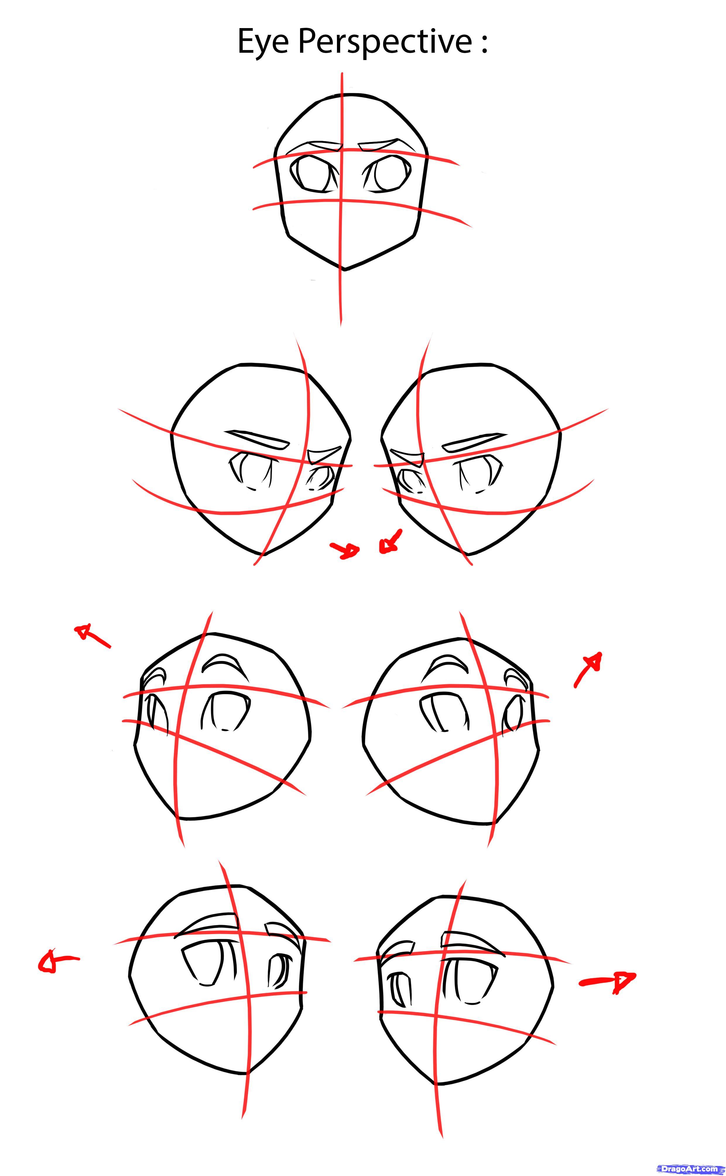 Учимся рисовать аниме