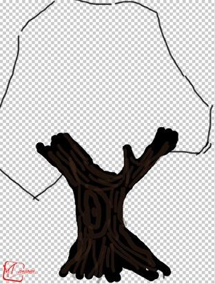 Рисуем дерево в Фотошопе