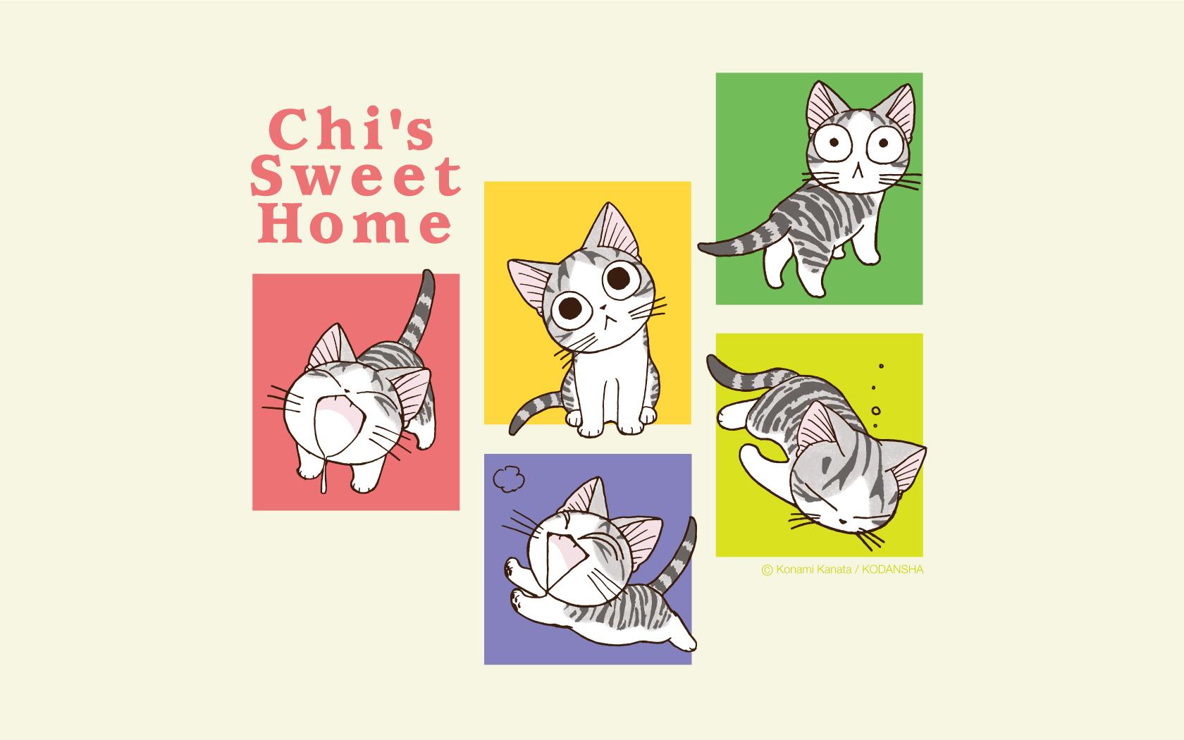 Милый дом чии картинки кошечки чии