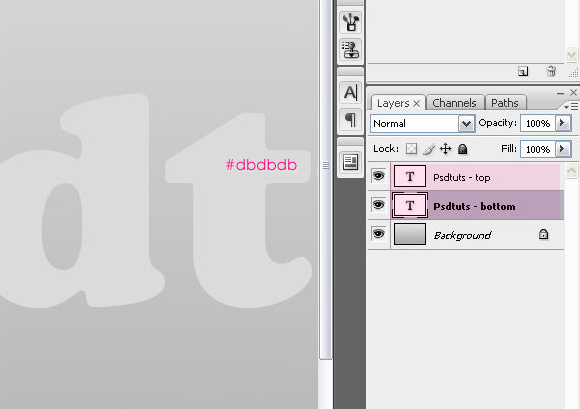 Урок работы в Photoshop: прозрачный текст наполненный жидкостью
