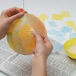 Папье-маше: Пасхальное яйцо