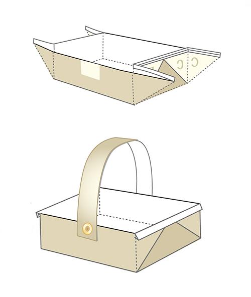Распечатай и склей пасхальную корзинку с героями Диснея