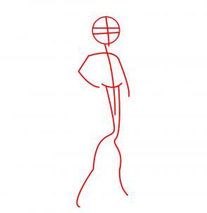 Как рисовать Монстр Хай: рисуем Клодин Вульф