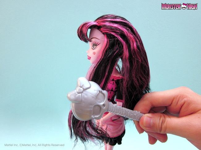 Монстр хай как сделать причёску кукле