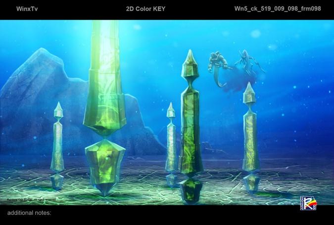 Винкс Клуб 5 сезон - картинки с ключевыми цветами