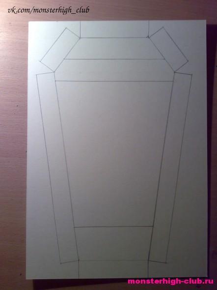 Делаем шкаф для кукол Монстр