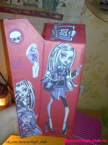 Как сделать что нибудь для куклы монстр хай своими руками