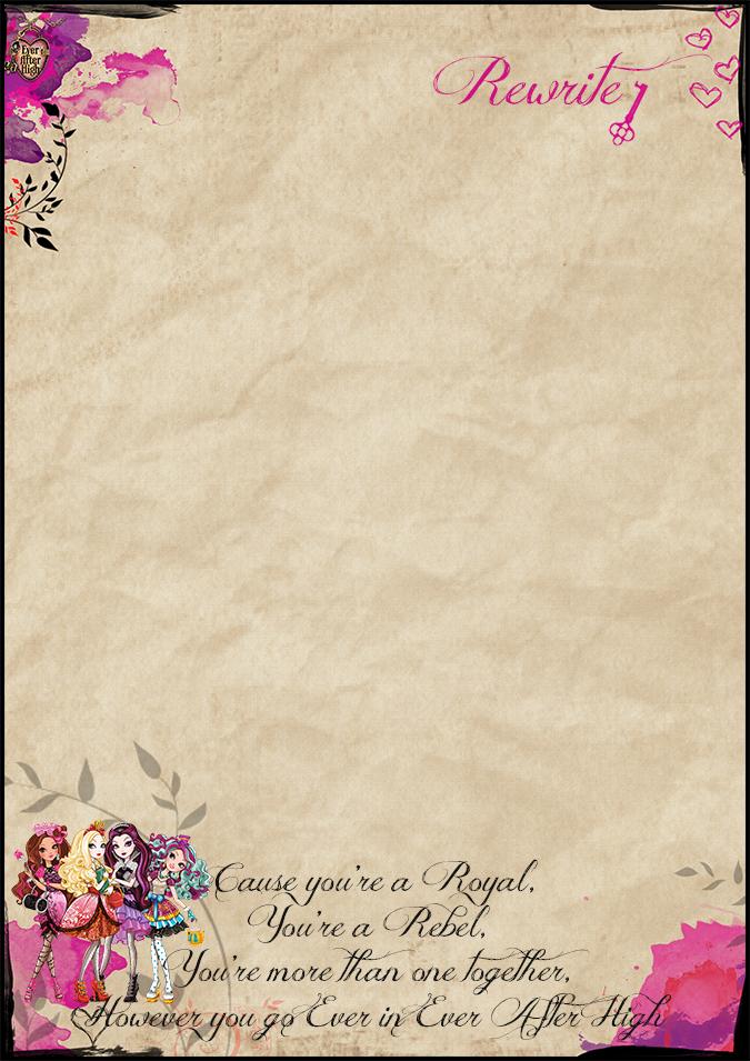 Оформление бумаги для письма своими руками 95