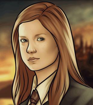 Как рисовать Джинни Уизли из Гарри Поттера
