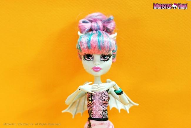 Как сделать прическу бантик для куклы монстер хай