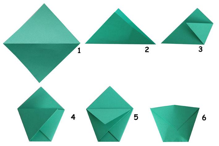 Как сделать кармашек из бумаги видео