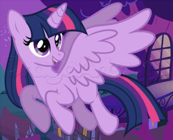 Как нарисовать пони Искору (Твайлайт) с крыльями
