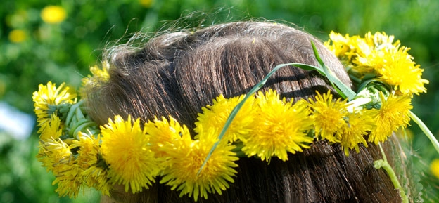 Как сделать из травы поделки