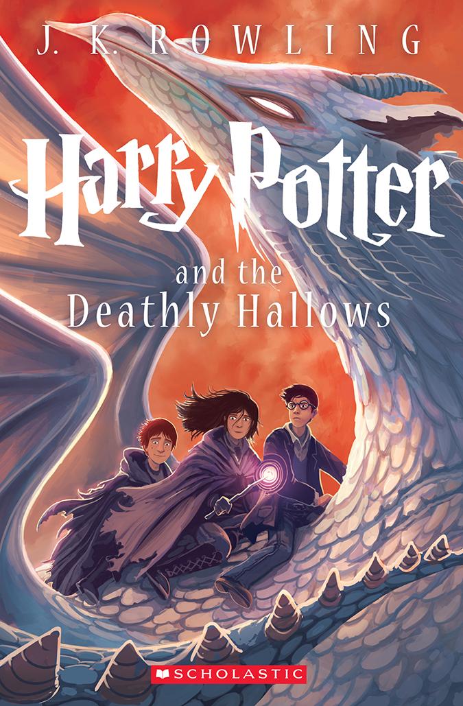 Новые обложки для книг про Гарри Поттера