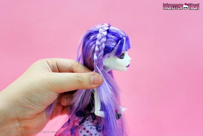как сделать прическу для куклы барби
