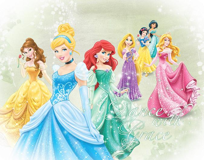 Картинки принцессы диснея в красивых платьях - 3259