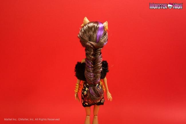 Прическа для кукол монстер хай своими руками
