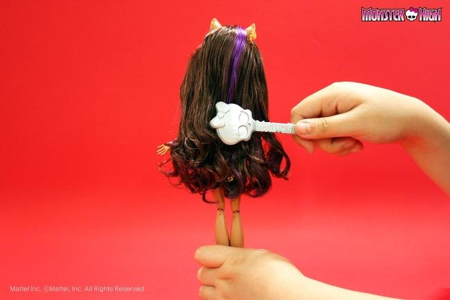 Как сделать прическу для куклы монстер хай с короткими волосами