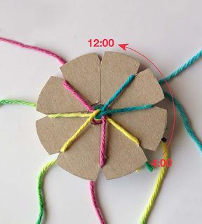 Учимся плести оригинальный браслет: плетение по кругу