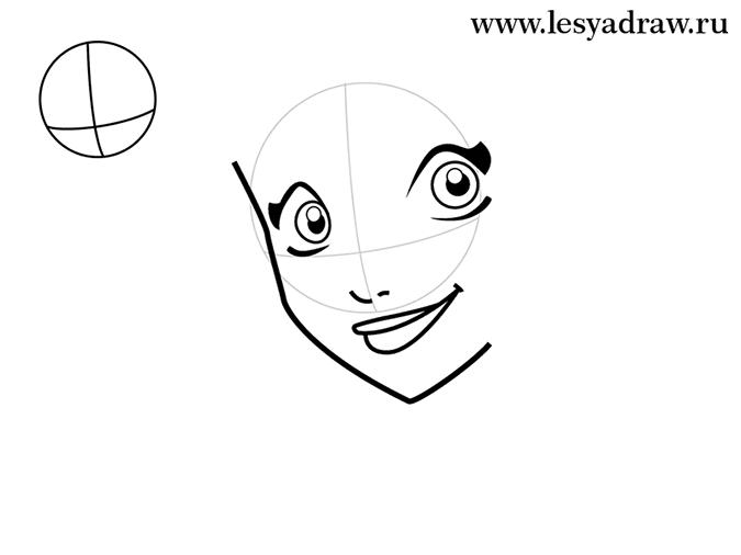 Как нарисовать Раф из Друзей Ангелов