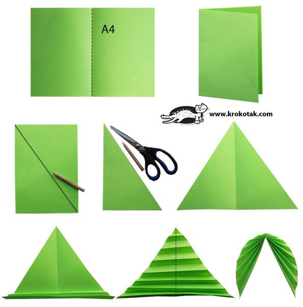 Поделки: осенние листья из бумаги