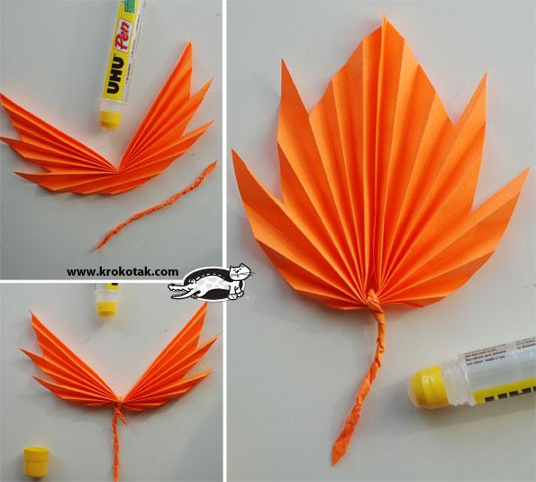 Елочки из бумаги оригами своими руками