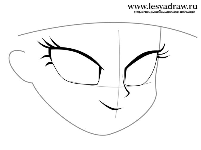 Как рисовать Твайлайт Спаркл из Девушек Эквестрии