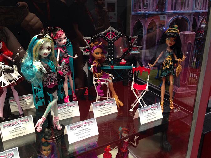 Новые куклы монстр хай 2013 2014 года со