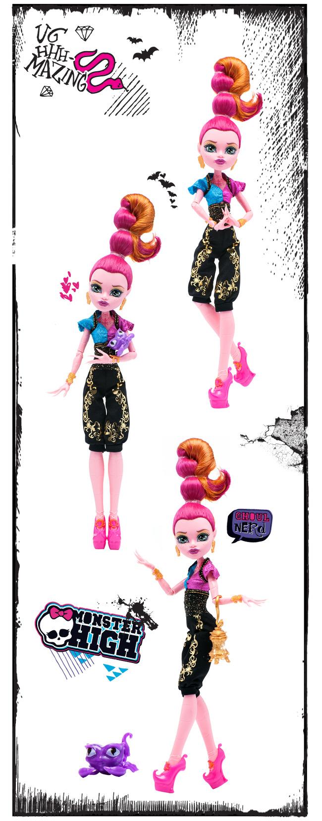Красивый фото обзор кукол Монстер Хай 13 Желаний