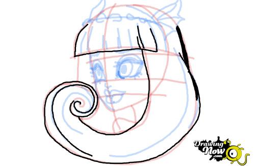 Как рисовать Рошель Гойл