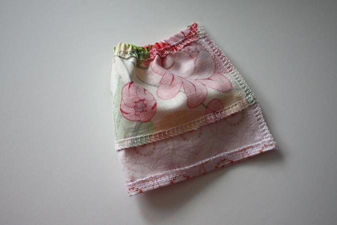 Как сшить юбку для кукол своими руками