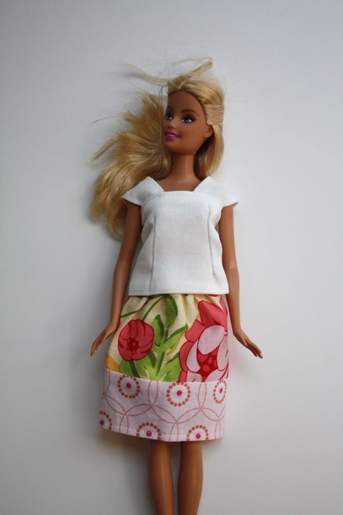 Платья для кукол своими руками сшить фото