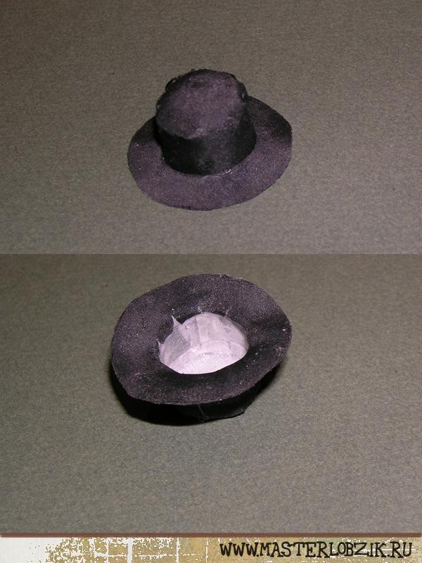 Сделать шляпу для куклы своими руками