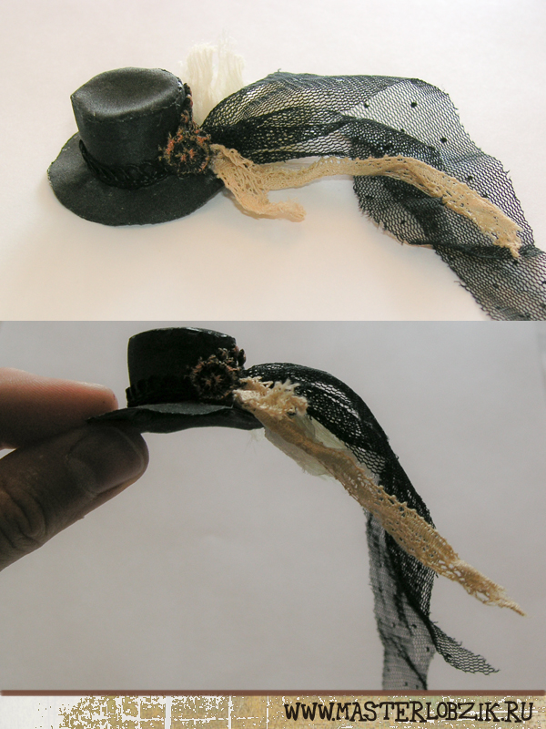 Шляпа для барби выкройка