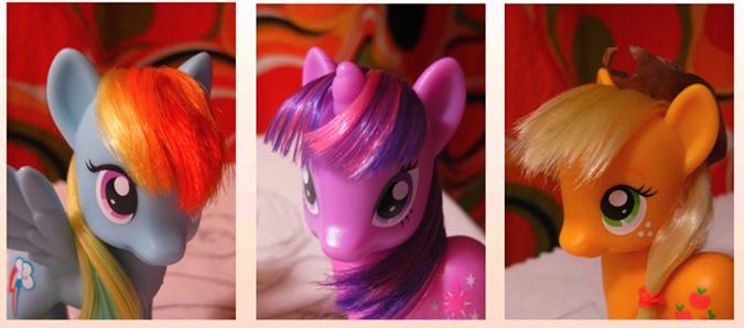 Прическа для пони с короткими волосами - 4
