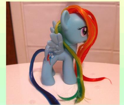 картинки причёски для пони