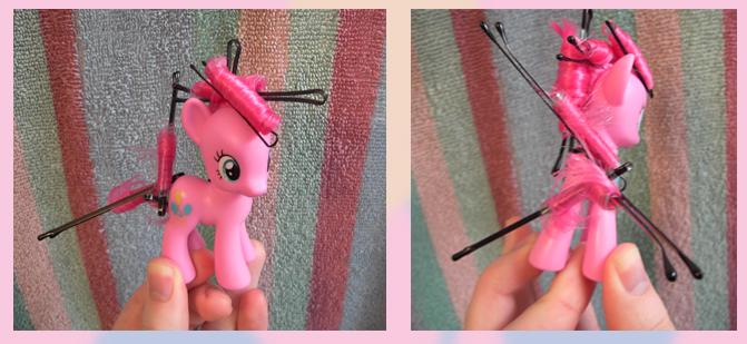 Прически для фигурок пони: прическа Пинки Пай