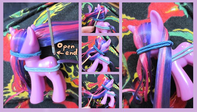 Прическа для пони с короткими волосами - c7cb