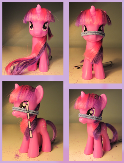 Прическа для пони кудряшки - 7f