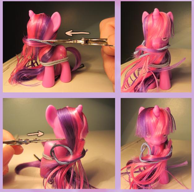 Прическа для пони с короткими волосами - dd