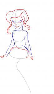 Как рисовать фею Видию
