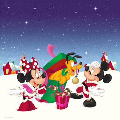 Новогодние картинки с Микки Маусом и ...: www.youloveit.ru/mult/mult_interes/disney_interes/5973-novogodnie...