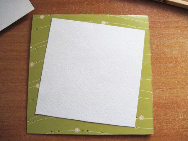 Открытки из бумаги гофрированной