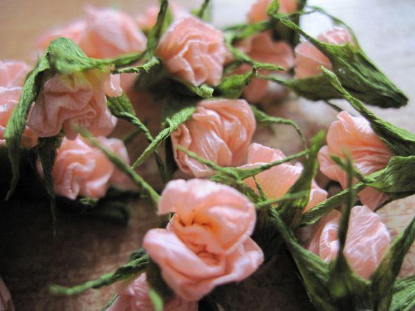 Как сделать розу для открытки
