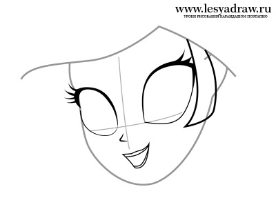 Как рисовать Девушек Эквестрии: Рисуем Рарити