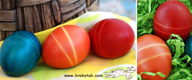 Поделки на Пасху: Несколько способов окраски яиц