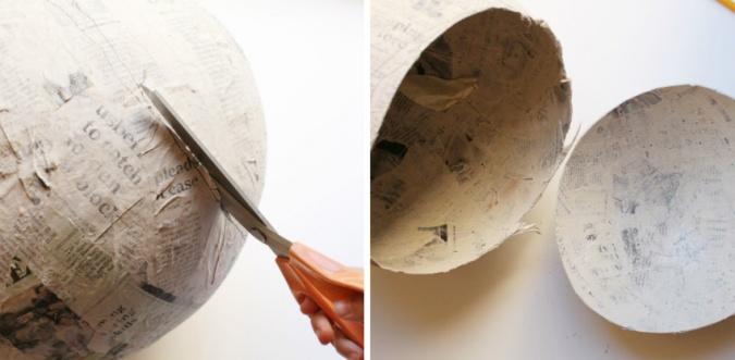 Поделки: Огромный пион из гофрированной бумаги